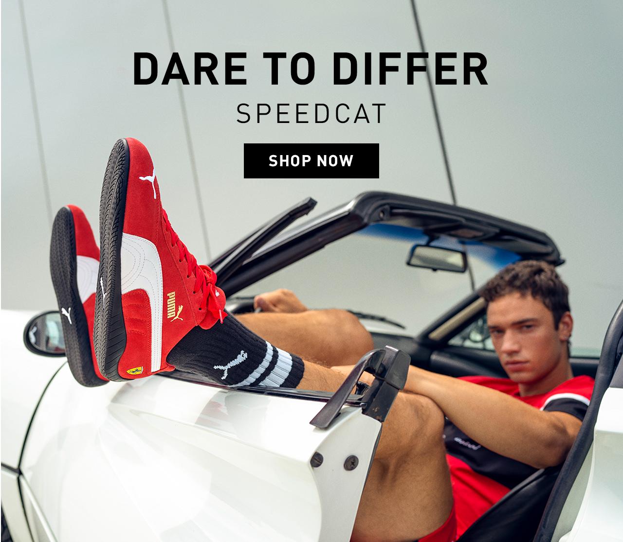 DARE TO DIFFER | SPEEDCAT | SHOP NOW