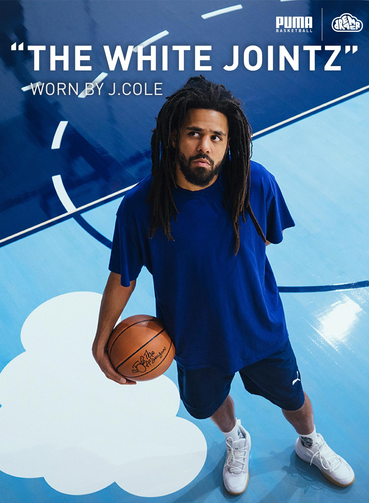 THE WHITE JOINTZ | WORN BY J. COLE